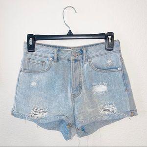 Brandy Melville Jean Shorts Size 25